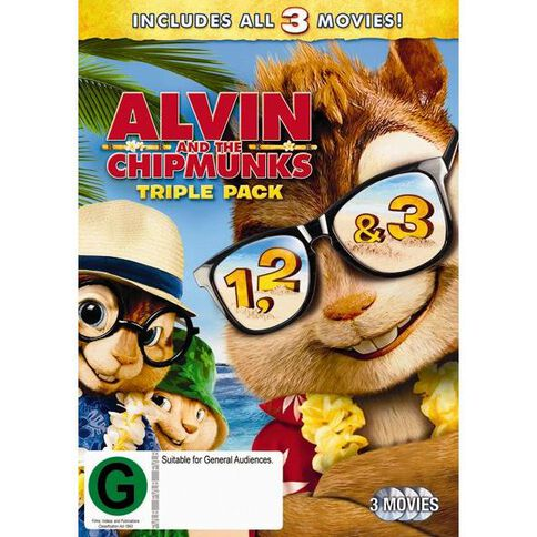 Alvin 1 to 3 Box Set 3 Titles DVD 3Disc