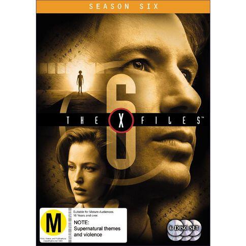 X Files Season 6 DVD 6Disc