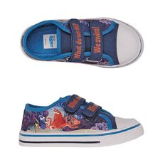 Disney Finding Dory Kids' Touch Fast Strap Canvas Shoes