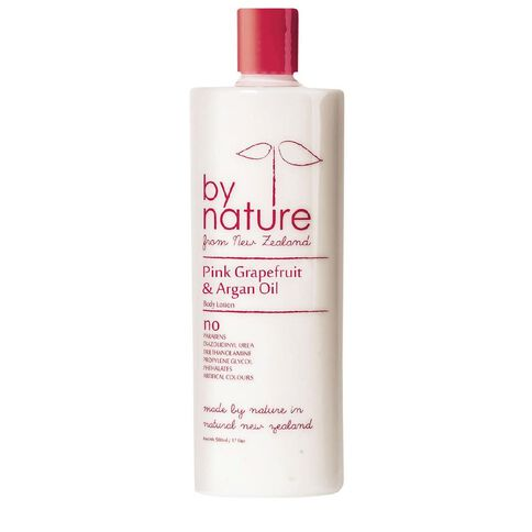 By Nature Body Lotion Pink Grapefruit & Argan Oil 500ml