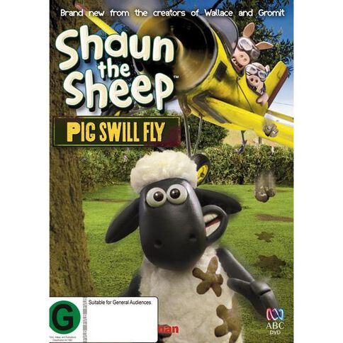 Shaun the Sheep Pig Swill Fly DVD 1Disc