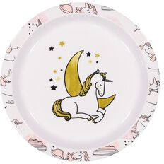Living & Co Kids' Plate Wild Unicorn