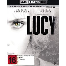 Lucy 4K Blu-ray 2Disc