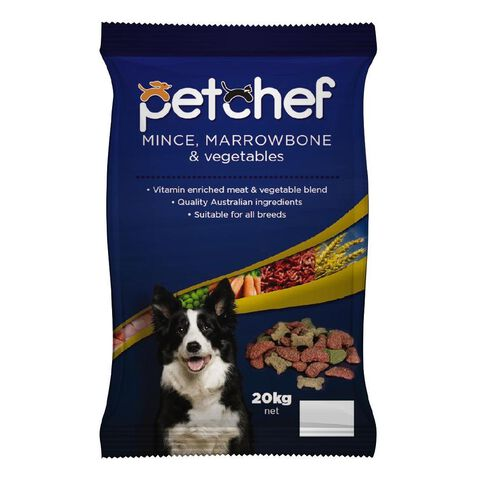Pet Chef Mince Marrow & Vegetables 20kg