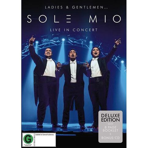 Ladies and Gentlemen Sol3 Mio Live in Concert DVD/CD by Sol3 Mio 2Disc