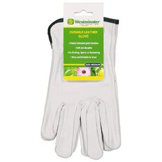 Westminster Double Leather Gloves Medium Green