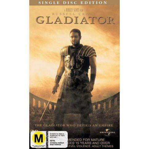 Gladiator DVD 1Disc