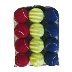 Active Intent Tennis Ball Coloured 12 Pack