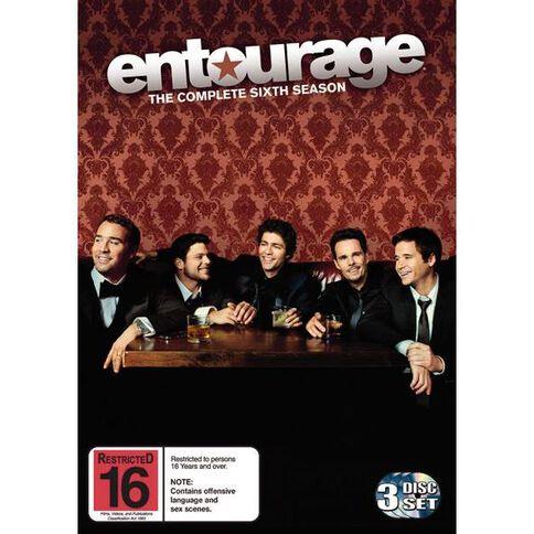 Entourage Series 6 DVD 3Disc