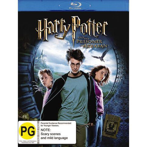 Harry Potter and The Prisoner of Azkaban Blu-ray 1Disc