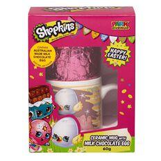 Shopkins Ceramic Mug with Easter Egg in Gift Box 60g