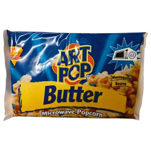 Art Pop Microwave Butter Popcorn with 0% Cholesterol 100g