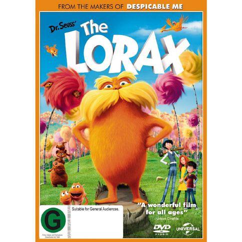 The Lorax DVD 1Disc