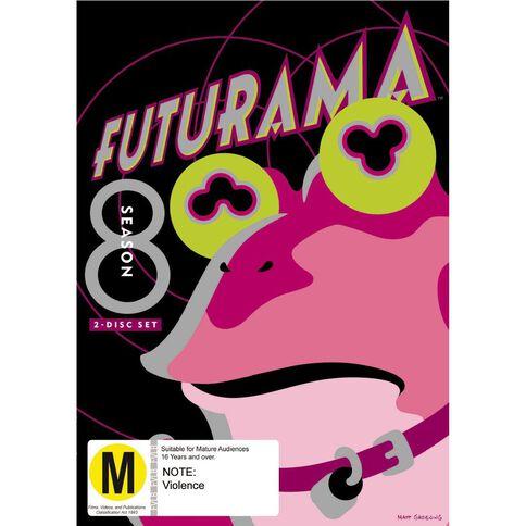 Futurama Series 8 DVD 2Disc