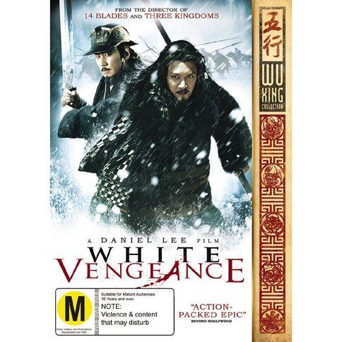 White Vengeance DVD 1Disc