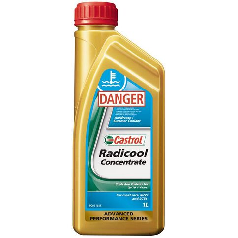 Castrol Radicool Concentrate Antifreeze/Summer Coolant 1L