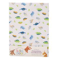 Lullaboo Flannelette Sheet Set