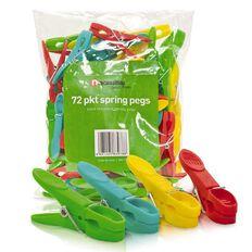 Necessities Brand Spring Pegs 72 Pack