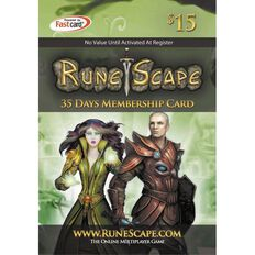 Runescape 35 Days Membership Card