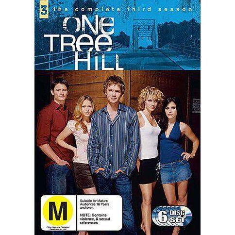 One Tree Hill Season 3 DVD 6Disc