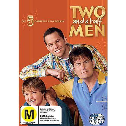 Two And A Half Men Season 5 DVD 3Disc