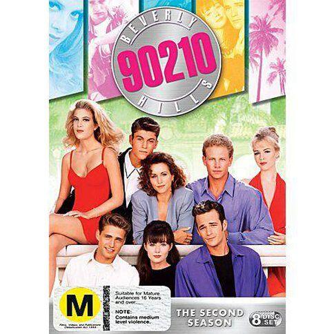 Beverly Hills 90210 Season 2 DVD 8Disc