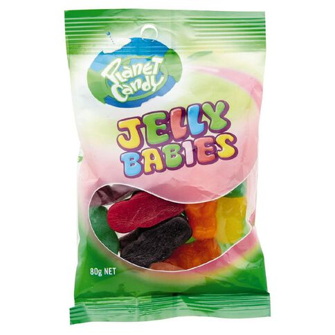 Planet Candy Jelly Babies 80g