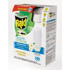 Raid Automatic Multi Insect Control System Earth Options Primary 305g