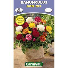 Carnival Ranunculus Bulb Super Mix 25 Pack