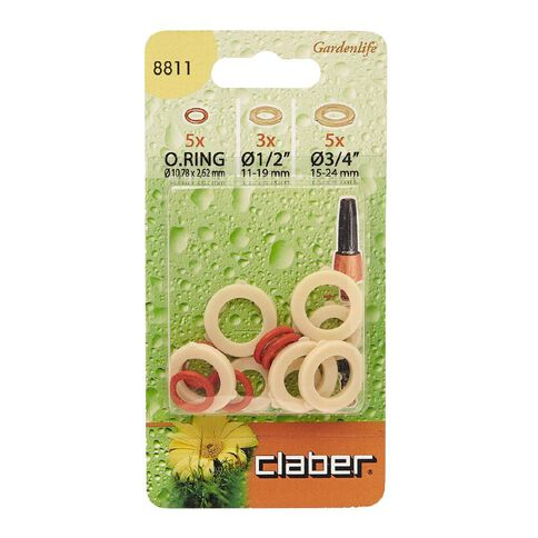 Claber O Rings and Washer Set