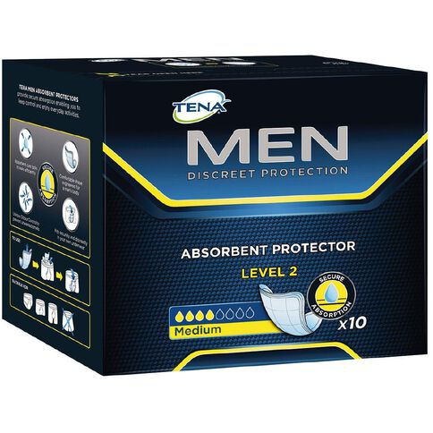 Tena For Men Level 2 10 Pack