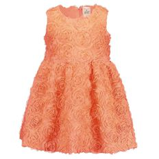 Hippo + Friends Toddler Girl Ruffle Dress