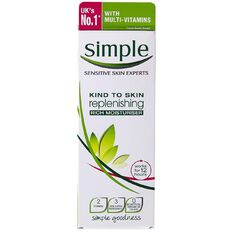 Simple Replenishing Rich Moisturiser 125ml