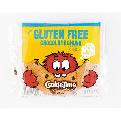 Cookie Time Gluten Free Chocolate Chunk Cookie 60g