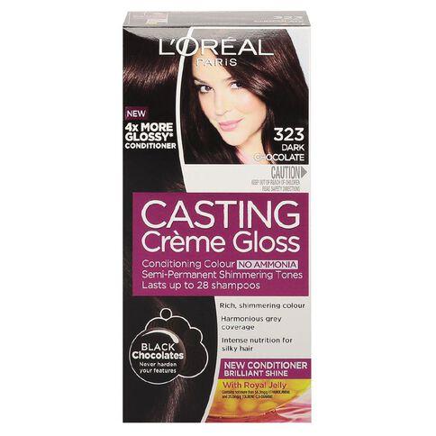 L'Oreal Paris Casting Creme Gloss-Chocolate Black 323