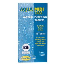 Camping Accessories Aqua Clean Water Purifying Tabs