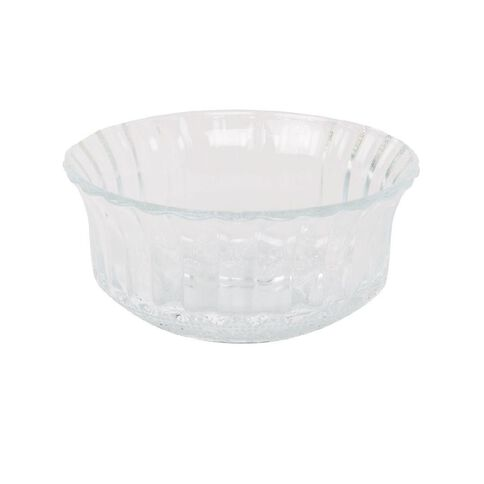 Necessities Brand Glass Bowl Fluted 11cm