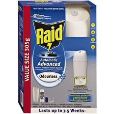 Raid Automatic Multi Insect Control System 5-in-1 Odourless Primary 305g