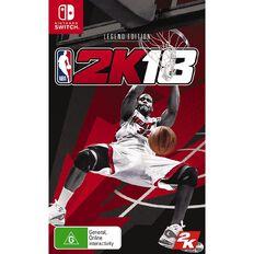 Nintendo Switch NBA 2K18 Legend Edition