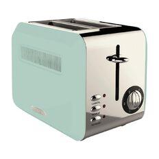 Living & Co Toaster Vintage 2 Slice Blue