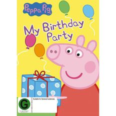 Peppa Pig My Birthday Party DVD 1Disc
