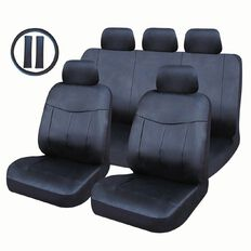 Auto FX Car Seat Cover Leather Look Value Set Low Back