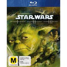 Star Wars Prequel Trilogy Blu-ray 3Disc