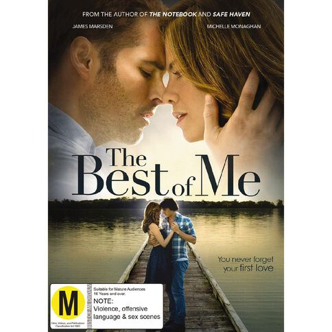 The Best of Me DVD 1Disc