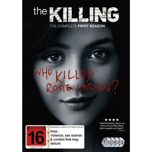 The Killing Season 1 DVD 4Disc