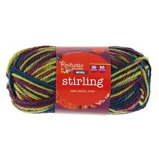 Knitwise Yarn Stirling Atlantis Wool 8-Ply 50g