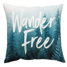 Living & Co Emerald City Cushion Wander Free