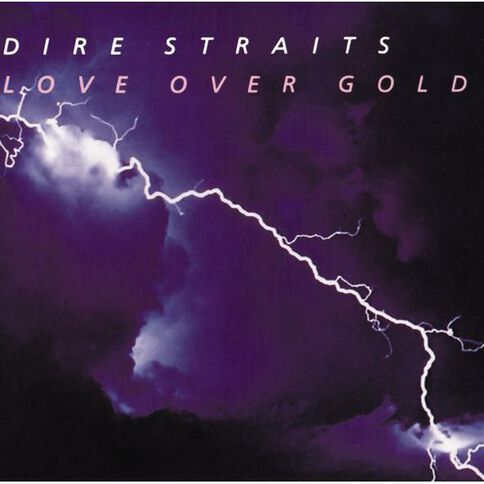 Love Over Gold CD by Dire Straits 1Disc