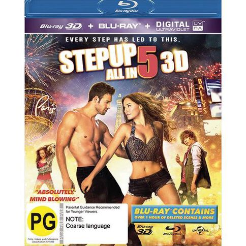 Step Up All In 3D Blu-ray 1Disc