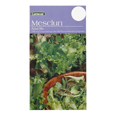Carnival Seeds Lettuce Mesclun Salad Mix